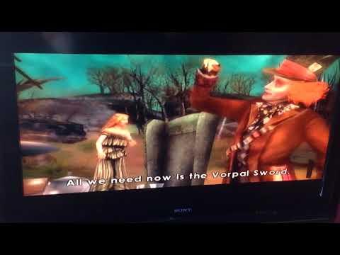 Alice in wonderland/ Alice, McTwisp Mallymkum and March hare meet mad hatter/ Wii version