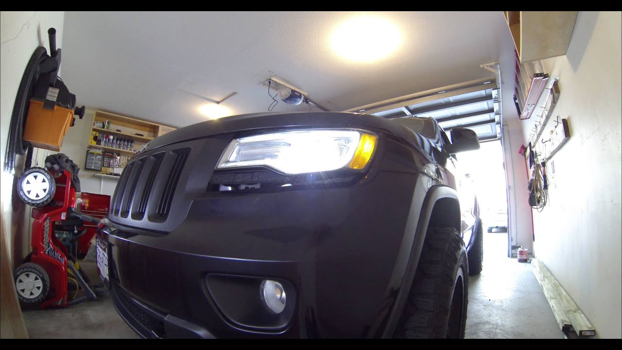 2014 Jeep Grand Cherokee Hid Led Headlight Test In 2011