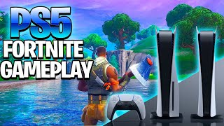 Fortnite Gameplay On The Playstation 5 (PS5 Fortnite Graphics & Gameplay)
