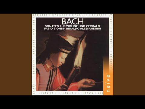 6 Violin Sonatas, No. 4 In C Minor, BWV 1017: I. Siciliano. Largo