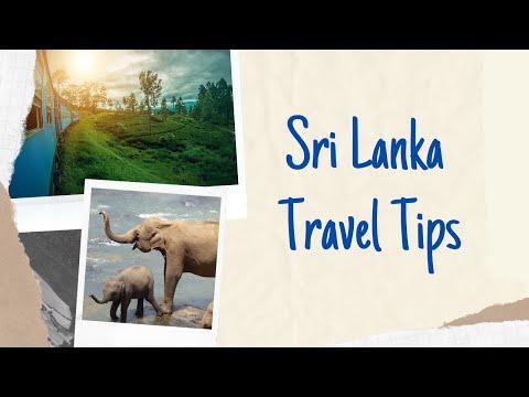 How to Travel - Sri Lanka Travel Tips