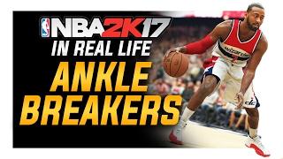 Best Basketball Ankle Breaker Moves: NBA 2k17 in Real Life