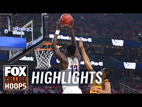 Arizona vs USC | 2018 Pac-12 Tournament | Highlights | FOX COLLEGE HOOPS