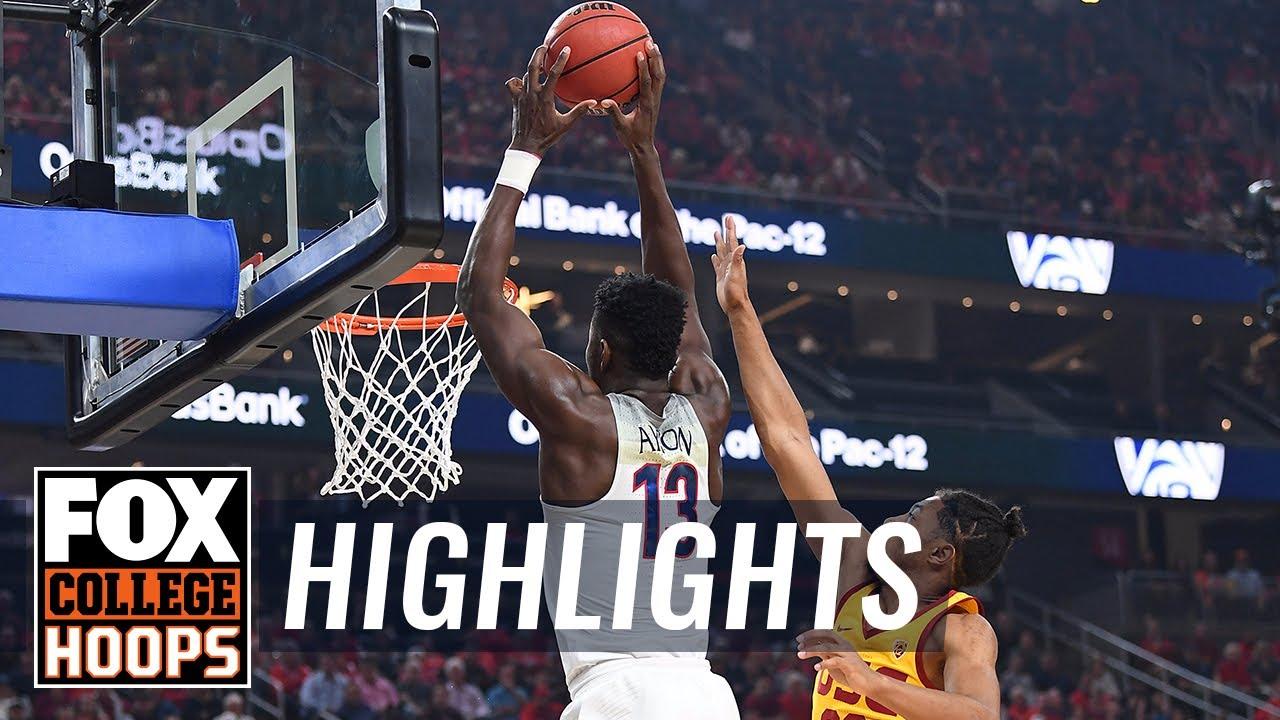 Arizona vs USC | 2018 Pac-12 Tournament | Highlights | FOX COLLEGE HOOPS