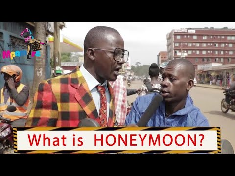 Download What is honeymoon? Teacher Mpamire on the street   Latest African Comedy july 2020
