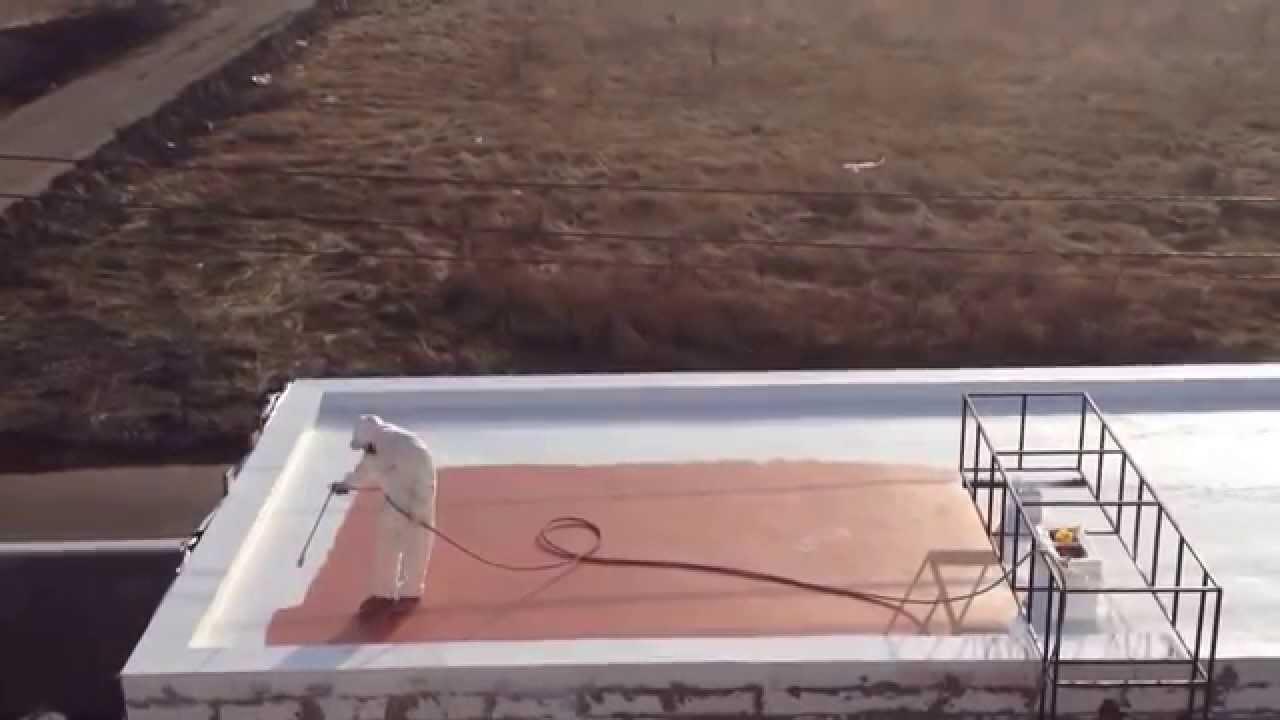 Гидроизоляция крыши гаража жидкой резиной