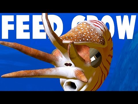 CUTTLEFISH UNLOCKED! Tentacle Wrap The MOSASAUR! - Feed And Grow Fish Gameplay