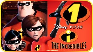 The Incredibles Walkthrough Part 1 (PS2, Gamecube, XBOX, PC) Movie Game Level 1