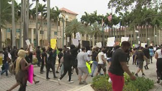 Several Protests Held Around South Florida