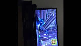 CLIMBING THE LARGEST FORT IN FORTNITE, yet for some odd reason I think my screen is sideways.