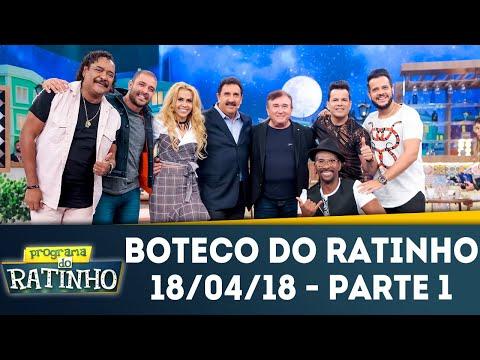 Boteco Do Ratinho - Parte 1 | Programa Do Ratinho (18/04/18)
