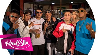 Смотреть клип Mc Fioti, Mc Dr, Mc Rhamon, Mc Menor Mr, Mc Neguinho Da Brc - A Favela Tá Lazer Demais