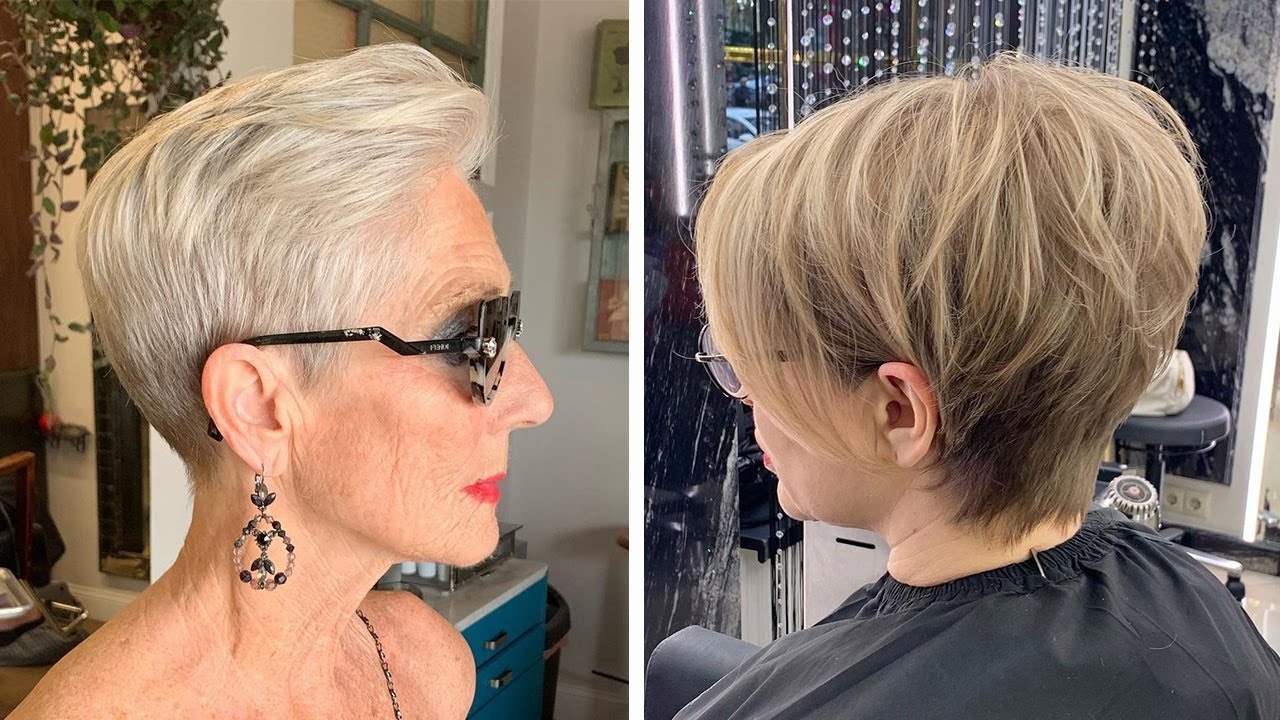 Pixie and Trendy Undercut For Any Age 🤩 Top Viral Haircut Tutorial | Hair Trending 2021