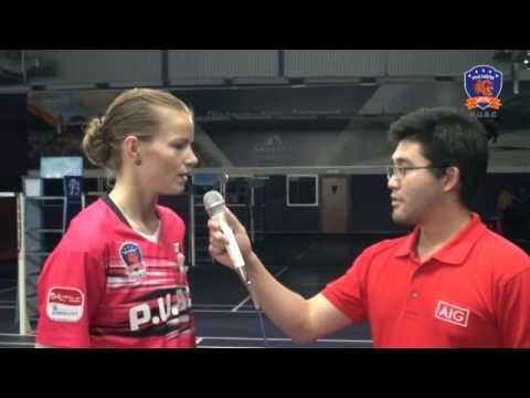 Interview with Christinna Pedersen