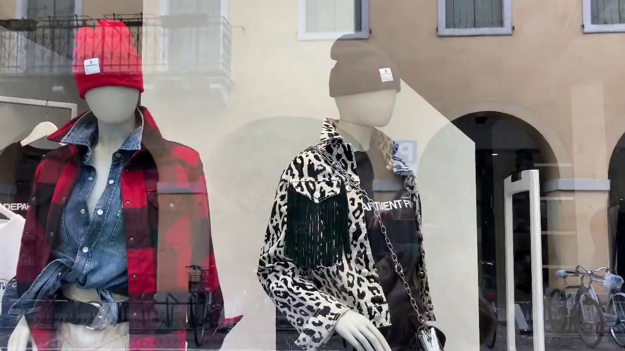 Осенние витрины Италии 2020