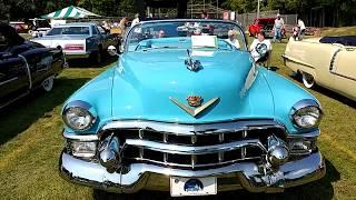 1953 AZURE BLUE CADILLAC FLEETWOOD ELDORADO CONVERTIBLE