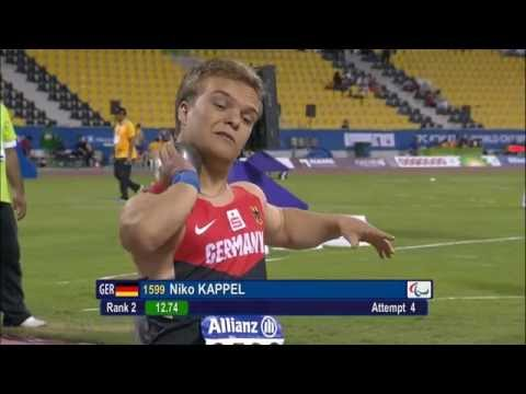 Men's shot put F41 | final |  2015 IPC Athletics World Championships Doha