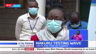 Nakuru Testing wave: County targets to test over 60k food handlers in the next one month