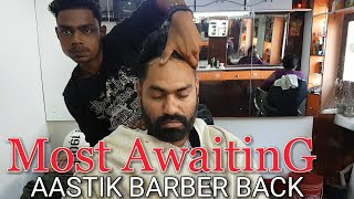 Aastik barber head massage and neck cracking ASMR videos.