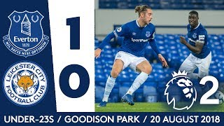 SAMBOU SEALS WIN FOR U23S | EVERTON 1-0 LEICESTER | PL2