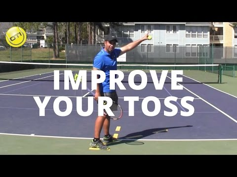 Tennis Tip: Improve Your Toss For More Balance