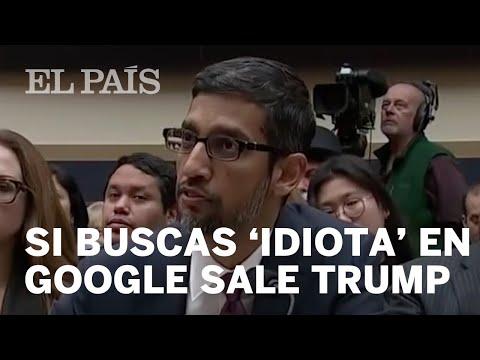 Google explica por que al buscar 'idiota' aparecen imágenes de Donald Trump