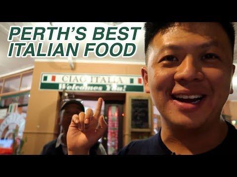 PERTH'S BEST ITALIAN FOOD - CIAO ITALIA REVIEW