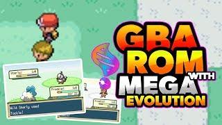 Pokemon gba rom hacks with mega evolution