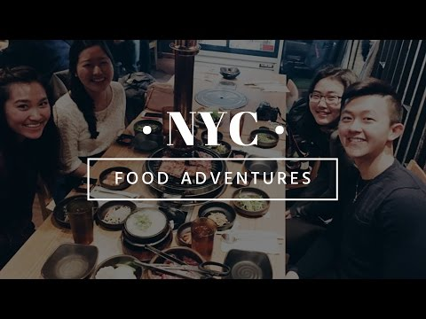 [NYC] Food Adventures || Times Square, Chelsea, SOHO + more