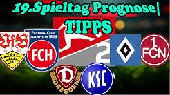 19.Spieltag 2.Bundesliga Vorschau/Prognose/Tipps: 2 Topduelle + 1 Abstiegsgipfel!
