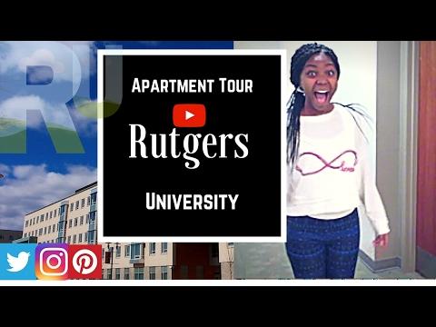Rutgers university apartment Tour!