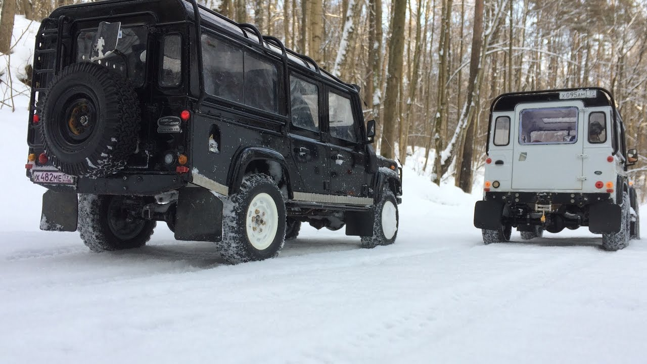 defender diaries 4x4 winter adventures rc land rover. Black Bedroom Furniture Sets. Home Design Ideas