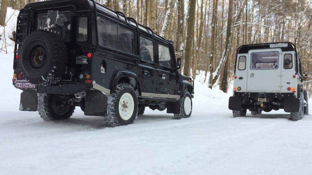 Defender Diaries 4x4 Winter Adventures Rc Land Rover