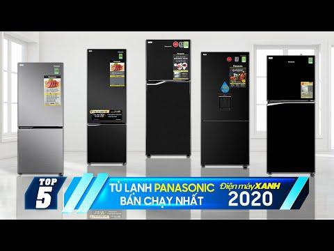 Top 5 tủ lạnh Panasonic bán chạy nhất Điện máy XANH 2020