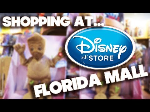 SHOPPING AT - DISNEY STORE - FLORIDA MALL - MAY 2017