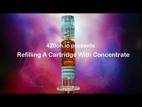 How To Refill A Vape Cartridge With Cannabis Concentrate​