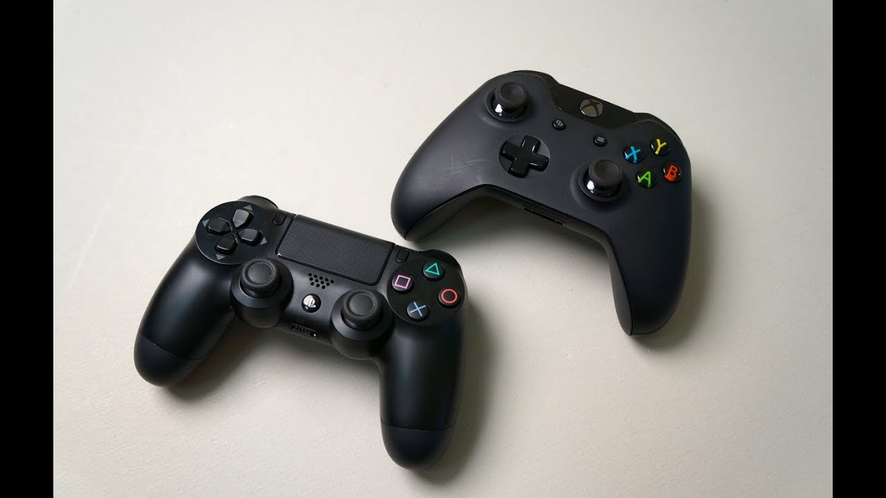PS4 vs Xbox One: Thorough Controller Comparison - YouTube