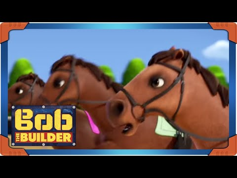 Bob the Builder | Horses on the loose  - 1 HOUR Adventures | Season 19 ⭐ Cartoons for Kids