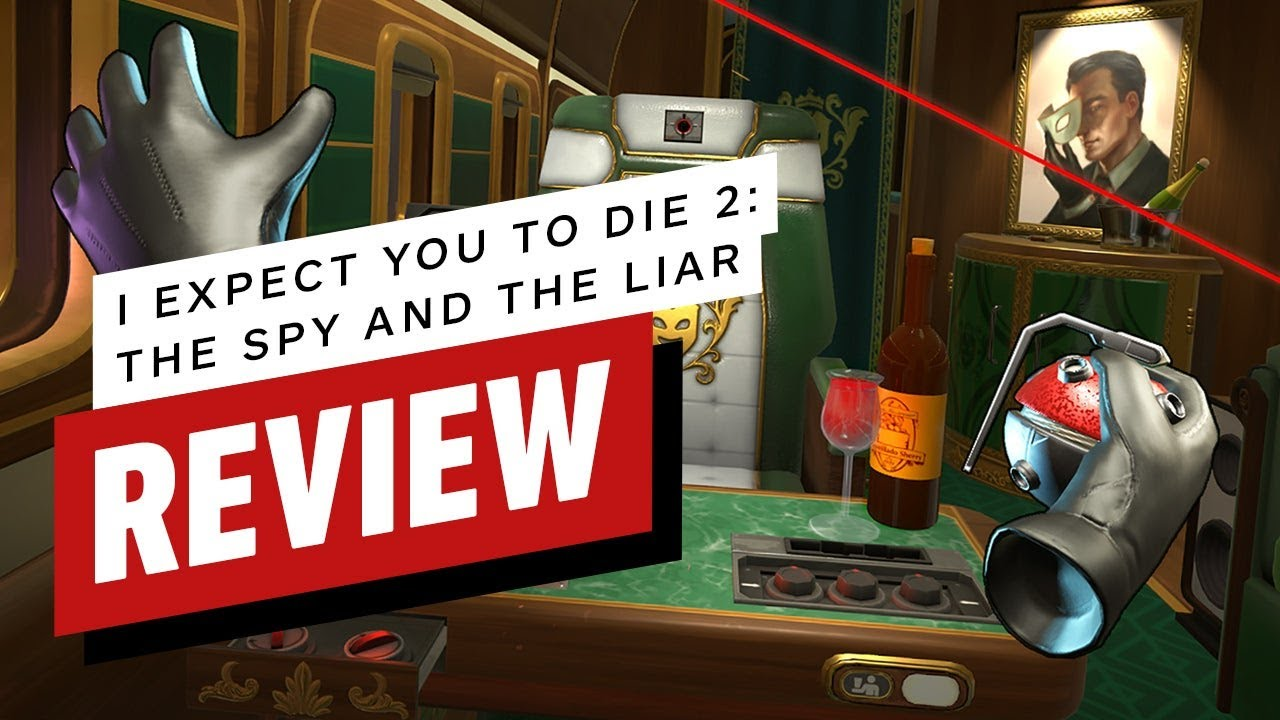 I Expect You To Die 2 Review (Video Game Video Review)