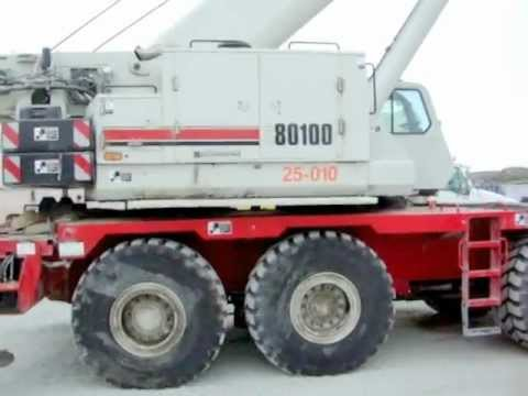 Link-Belt RTC 80100-II 100 Ton Crane Truck - For Sale