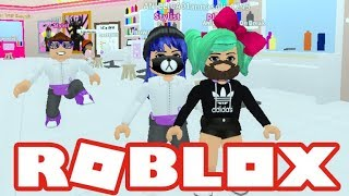 A GIRL WITH A MUSTACHE? Roblox Roleplay