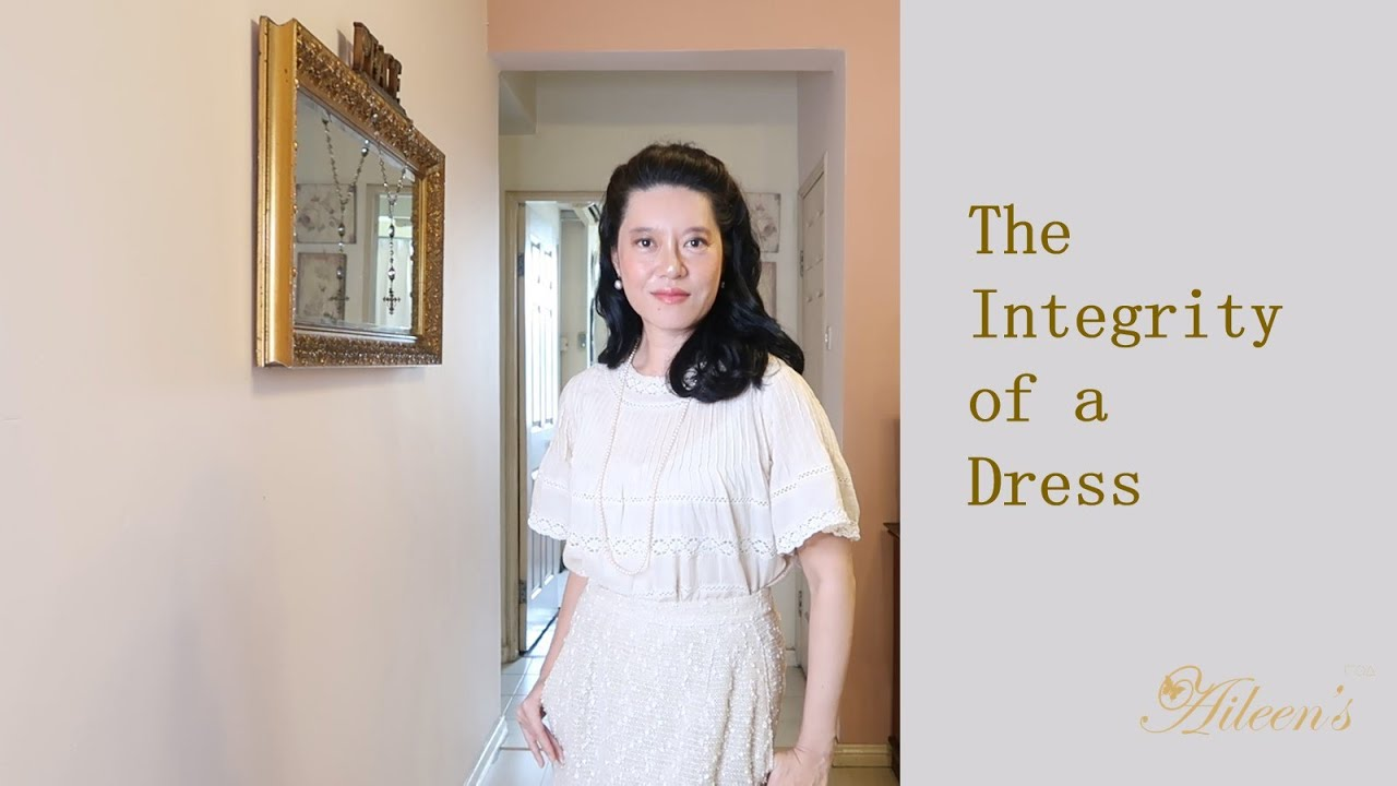 The Integrity of a Dress (Exquisite Tailoring)