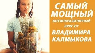 Антипаразитарный курс для сыроедов и веганов. Сильнее эвкалиптовой чистки. Владимир Калмыков.