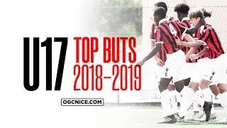 Le Top 5 des buts des U17 de l'OGC Nice : saison 2018-19