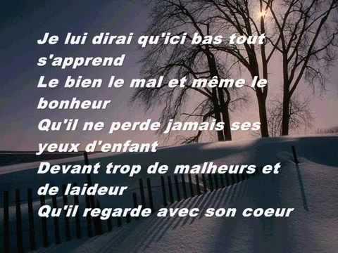 Celine Dion - Je lui dirai ( Lyrics ) - YouTube