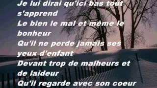 Celine Dion - Je lui dirai ( Lyrics )