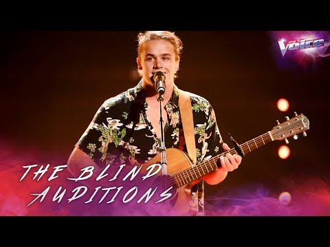 Blind Audition: Sax Bates sings Perfect | The Voice Australia 2018