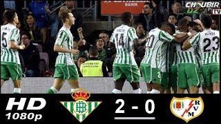 Real Betis vs Rayo Vallecano 1-0 La liga 09/12/2018