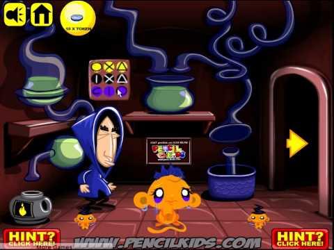 Игра Команда Умизуми Спасение фиолетовой обезьянки онлайн