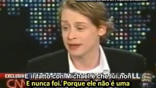 Macaulay Culkin fala sobre Michael Jackson em 2004 (legendado)